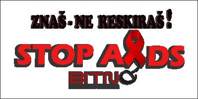 """BitnoUp-Stop AIDS – """"Znaš-ne reskiraš"""""""